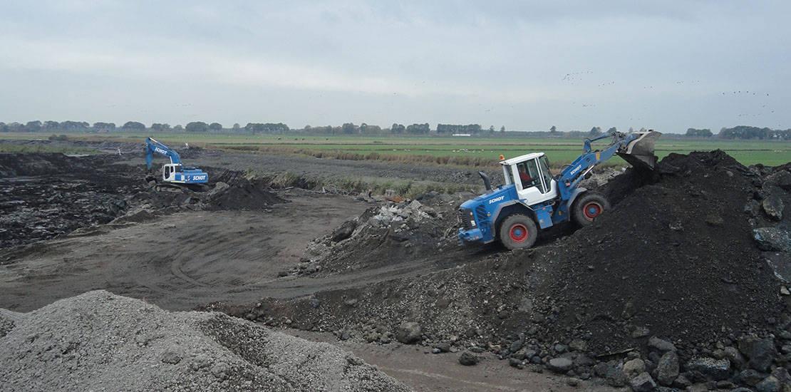milieutechniek, asbest-, bodem- of tanksanering