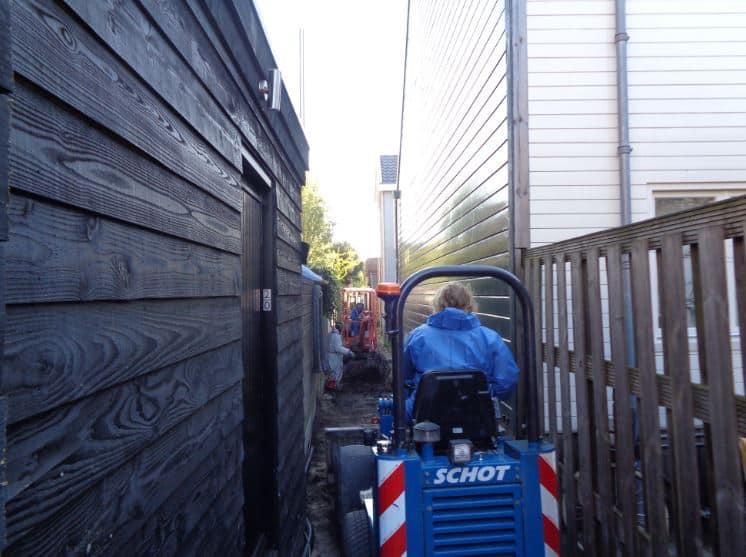 Schot infra riolering Herengracht Zaandam2
