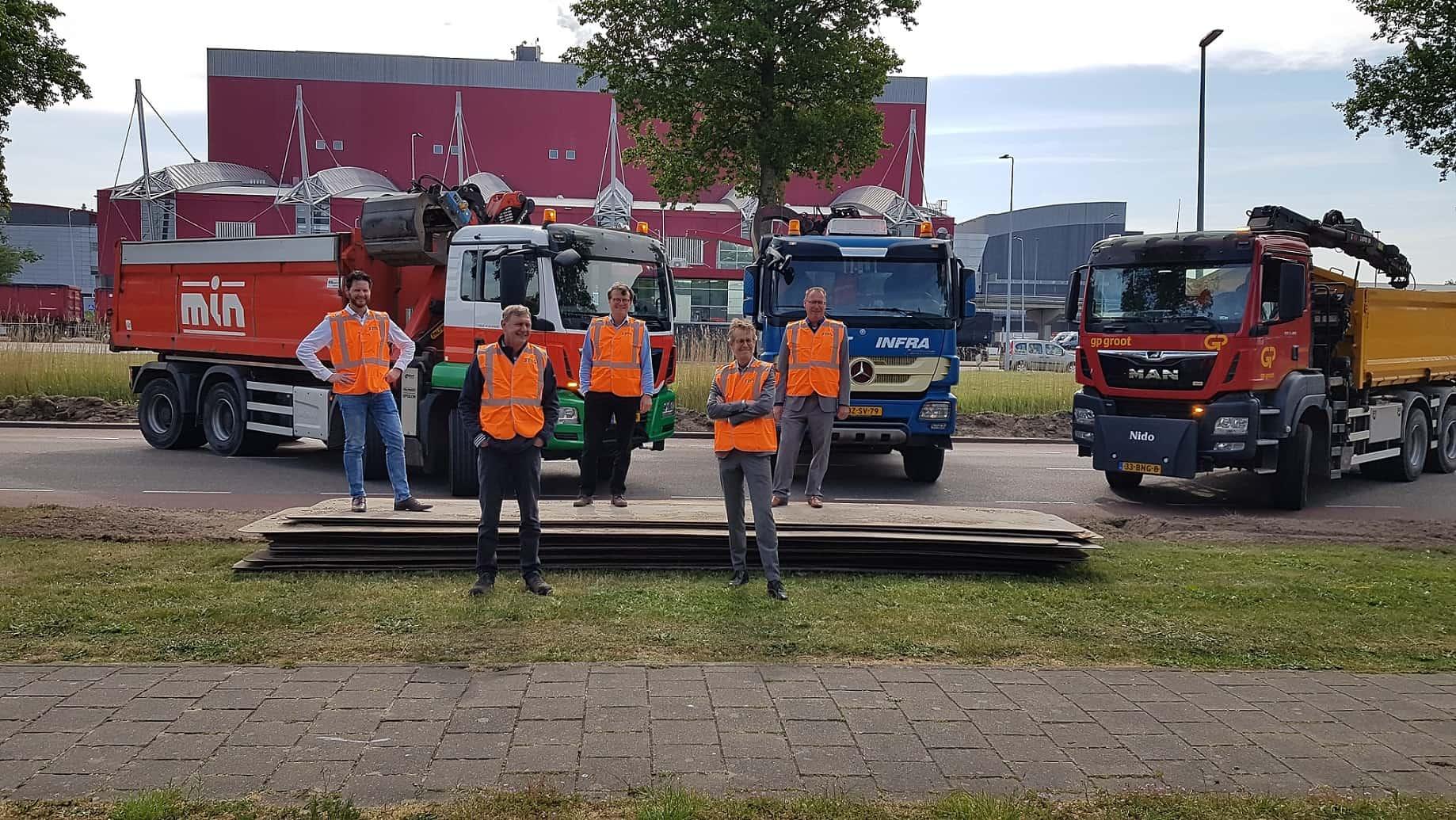 Groot onderhoud Diamantweg Alkmaar 2