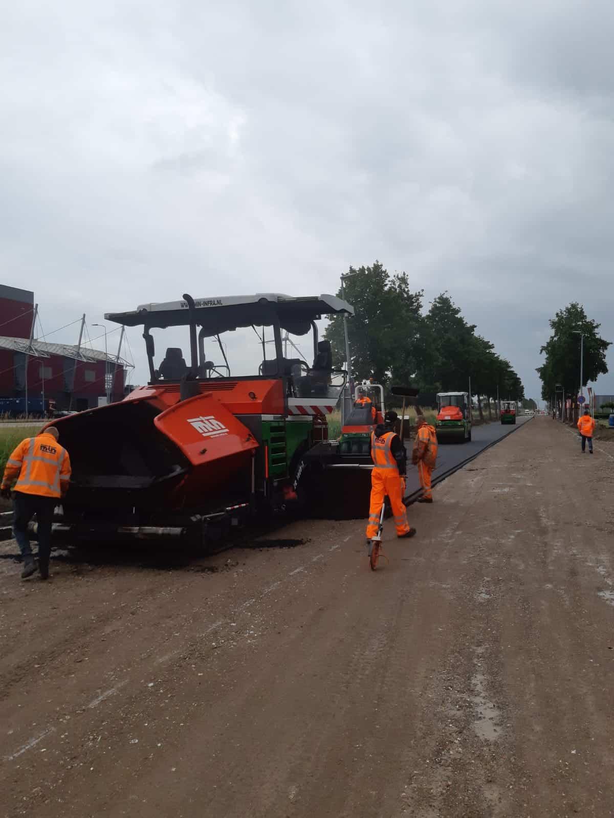 Groot onderhoud Diamantweg Alkmaar 3
