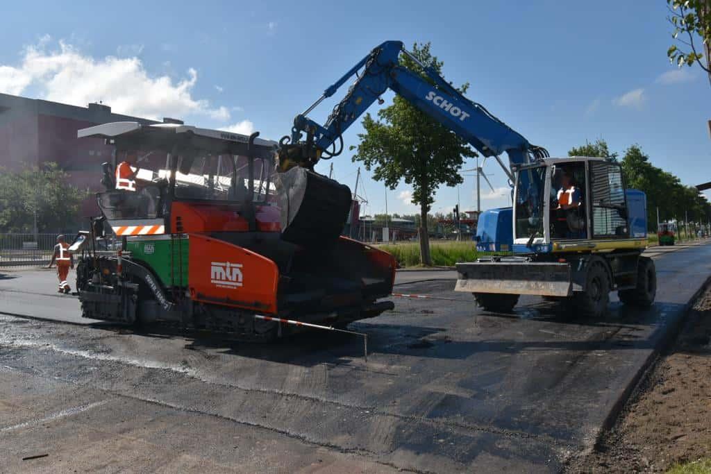 Groot onderhoud Diamantweg Alkmaar 4