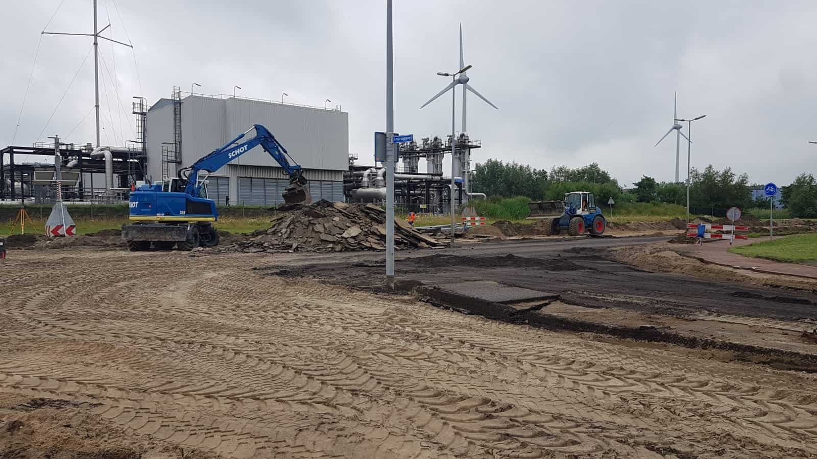 Groot onderhoud Diamantweg Alkmaar 6