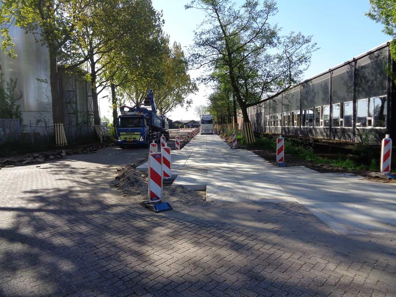 Schot Infra Zaanstad Soendastraat noodweg