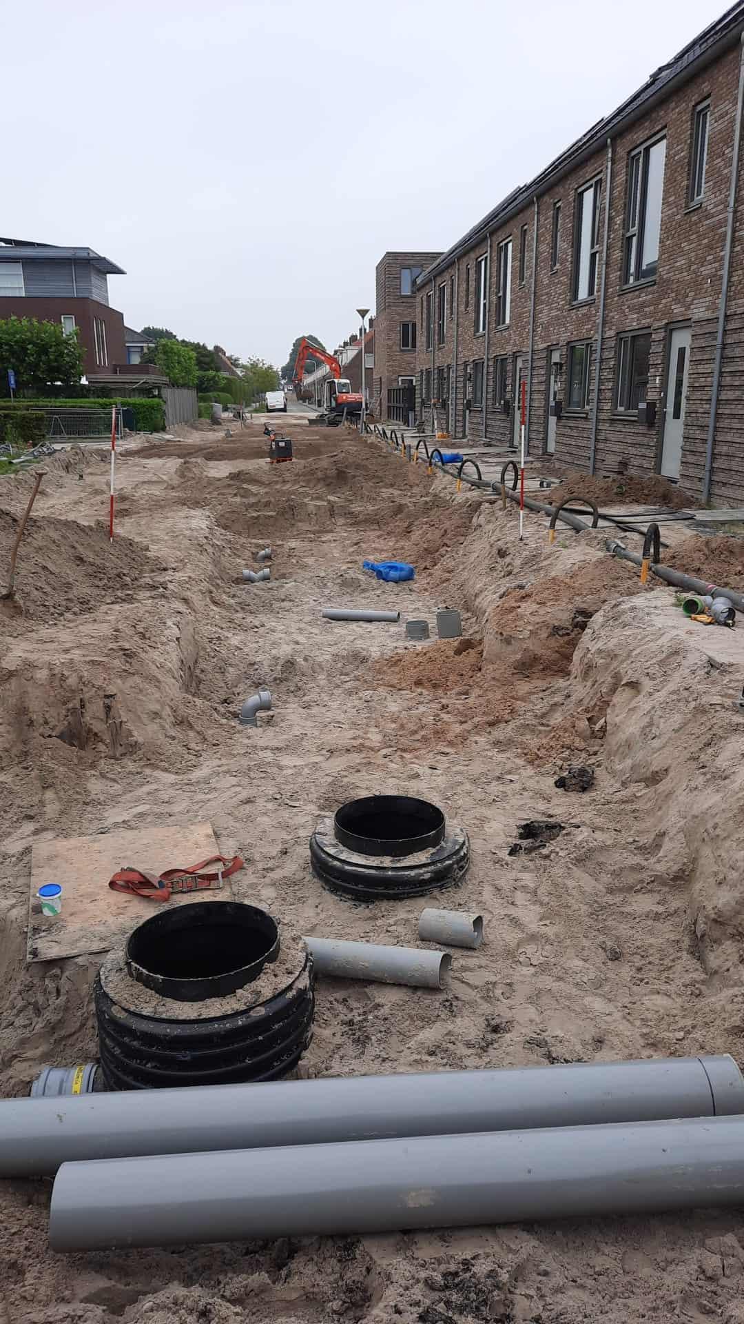 gemeente de fryske marren rioolrenovatie herinrichting zuiderzeestraat lemmer bommen 4